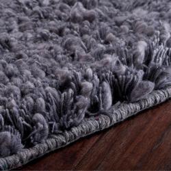 Hand-Woven Metropolitan Casual New Zealand Wool Plush Shag Rug (9' x 13')