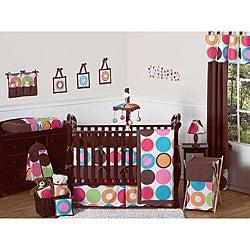 Sweet Jojo Designs Deco Dot 9-piece Crib Bedding Set