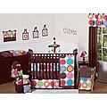Link to Sweet Jojo Designs Deco Dot 9-piece Crib Bedding Set Similar Items in Bedding Sets