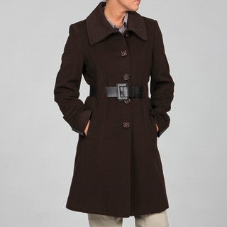 Via Spiga Women's Wool- and Cashmere-blend Belted Coat