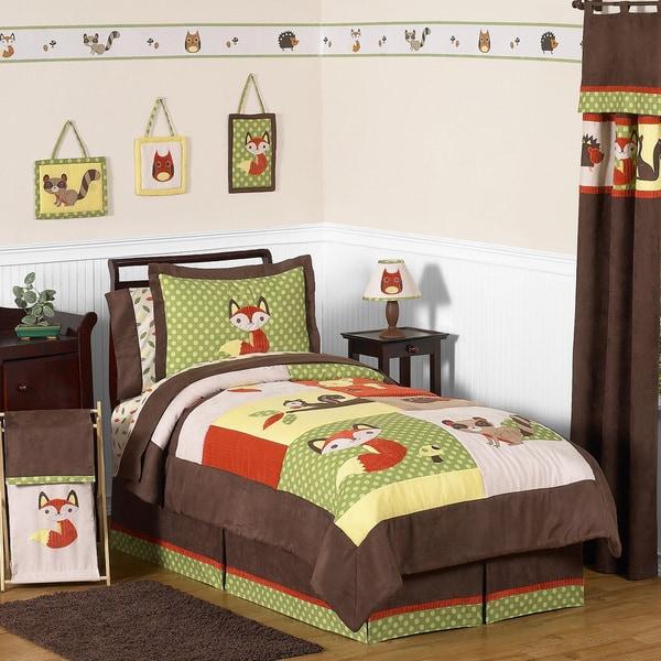 Sweet JoJo Designs 'Forest Friends' 3-piece Full/ Queen Bedding Set