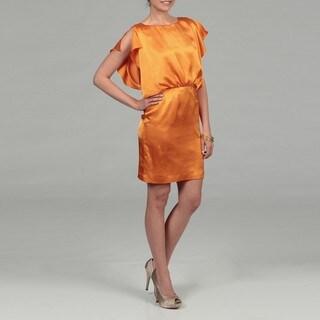 Calvin Klein Women's Flutter Sleeve Dress