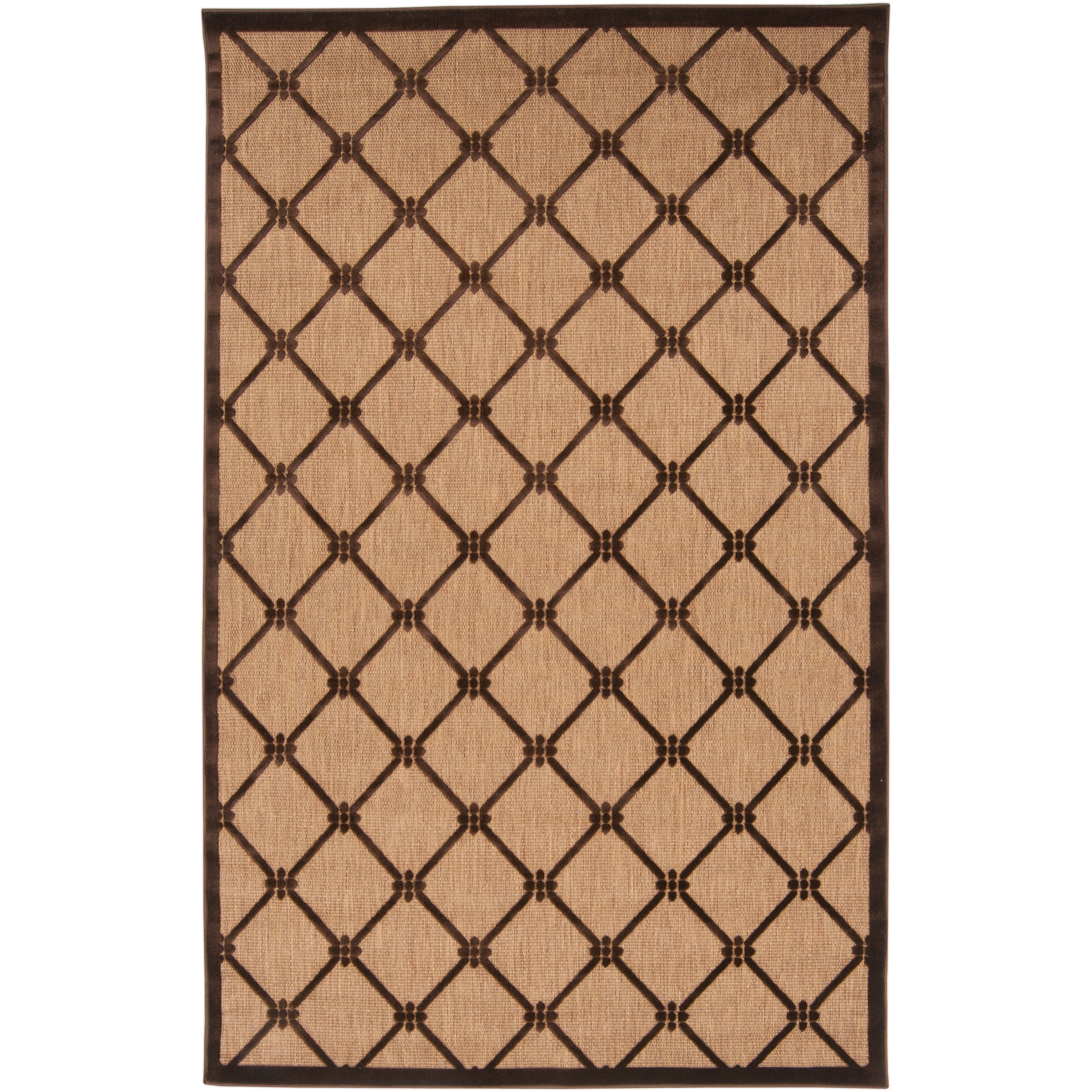 Baffin Indoor/Outdoor Geometric Area Rug (7'10 x 10'8) - 7'10 x 10'8