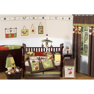 Sweet Jojo Designs Forest Friends 9-piece Crib Bedding Set