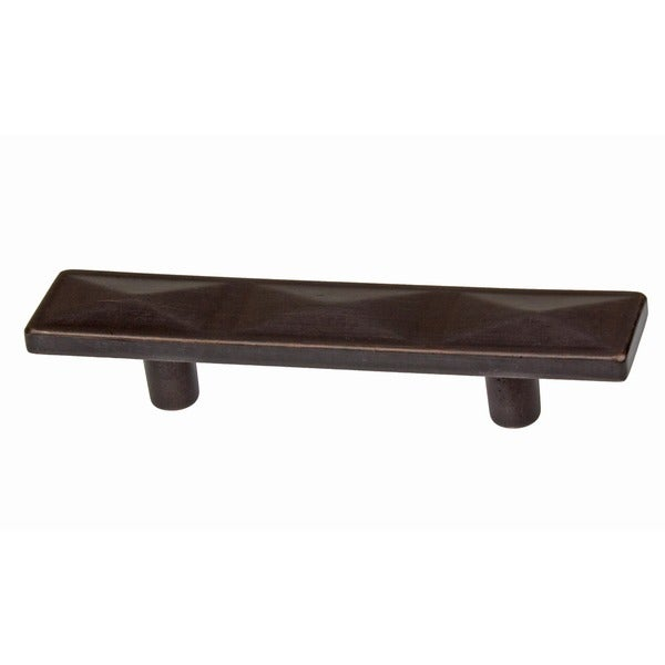2 inch cabinet hardware by gliderite 2 5 inch oil rubbed bronze rectangle triple