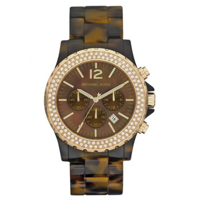 такие женские наручные часы michael kors mk5976 с хронографом или часы