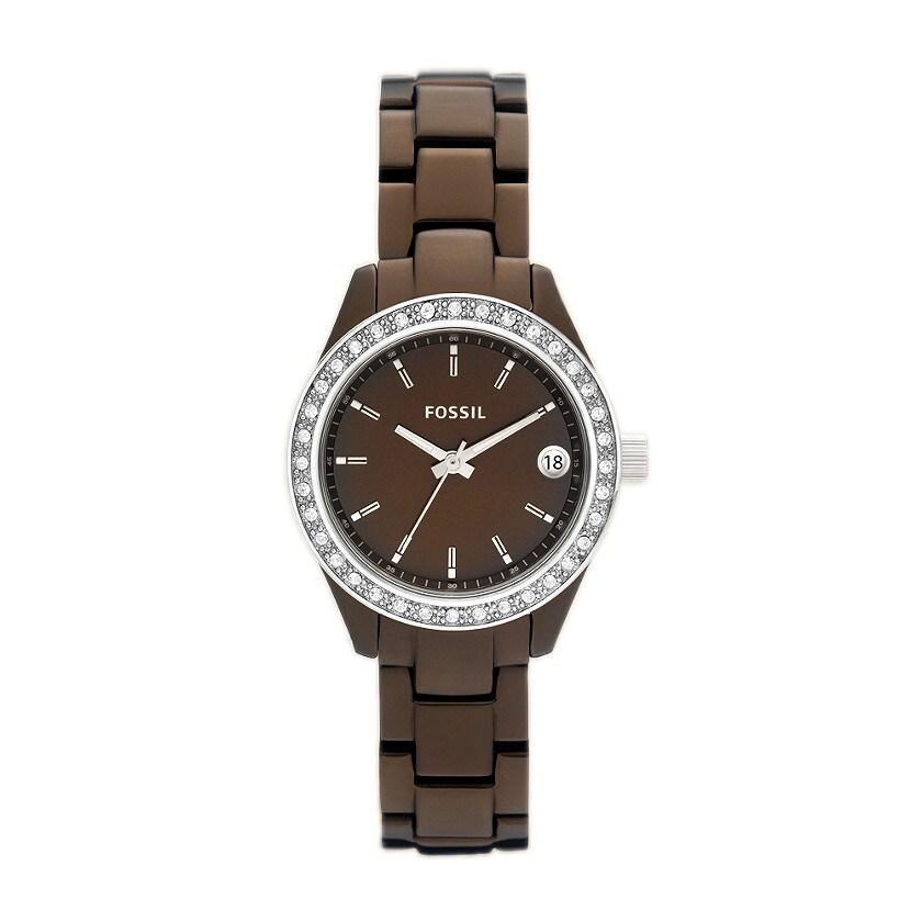 Fossil Women's 'Stella Mini' Aluminum Glitz Watch