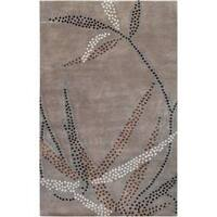 Collection Hand-knotted Charlbury Floral Wool Area Rug (5' x 8')