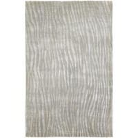 Hand-knotted Dereham Abstract Plush Wool Area Rug - 5' x 8'