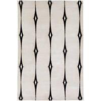 Hand-knotted Desborough Geometric Wool Area Rug - 5' x 8'