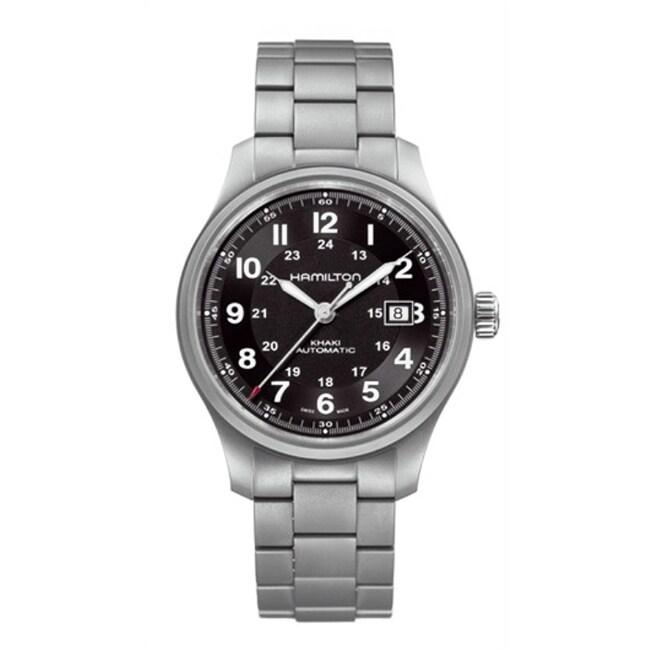 Hamilton Men's Automatic Titanium Watch
