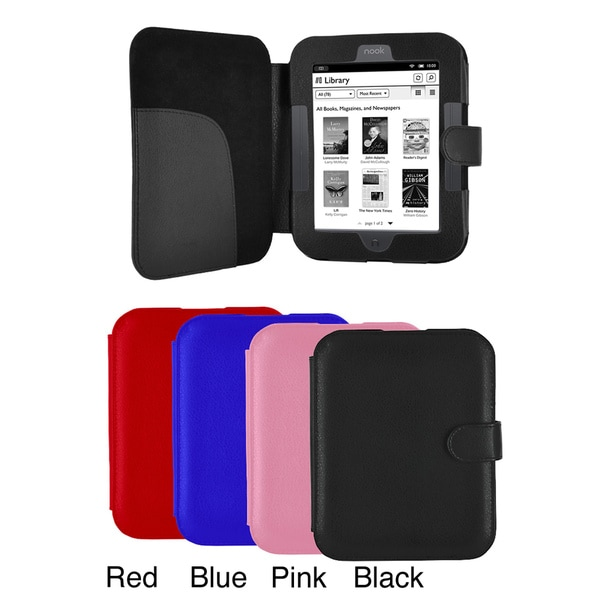 Portfolio Barnes & Noble Nook Simple Touch Leatherette Case