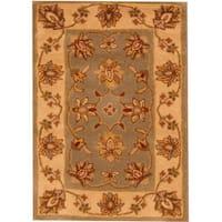 Herat Oriental Indo Hand-tufted Mahal Wool Rug (2' x 3') - 2' x 3'