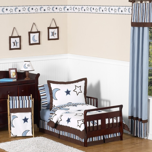 Sweet JoJo Designs StarryNight 5-piece Toddler Bedding Set