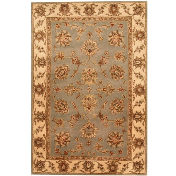 Herat Oriental Indo Hand-tufted Mahal Wool Rug (4' x 6')