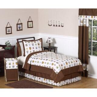 Sweet JoJo Designs Night Owl 3-piece Full/Queen-size Bedding Set