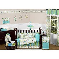 Sweet Jojo Designs Layla 9-piece Crib Bedding Set