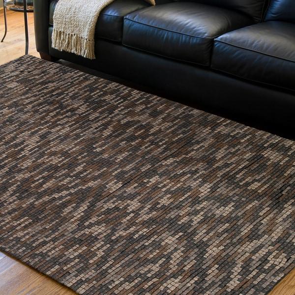 Shop Hand-woven Kamnik New Zealand Wool Plush Textured