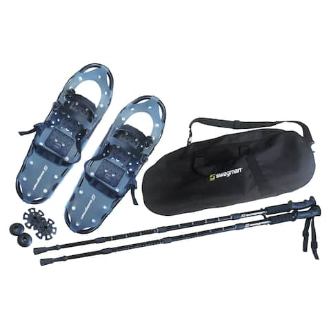 Swagman Proform XL Snowshoes with Trekking Poles