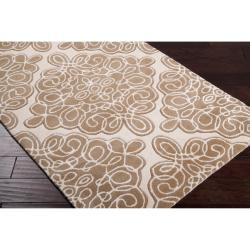 Hand-tufted Wetterstein Geometric Pattern Wool Rug (3'3 x 5'3) - Thumbnail 1