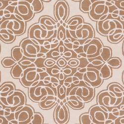 Hand-tufted Wetterstein Geometric Pattern Wool Rug (3'3 x 5'3) - Thumbnail 2