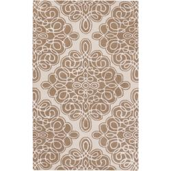 Hand-tufted Wetterstein Geometric Pattern Wool Rug (3'3 x 5'3)