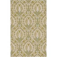Hand-tufted Totes BoGreenical Pattern Wool Area Rug (3'3 x 5'3)