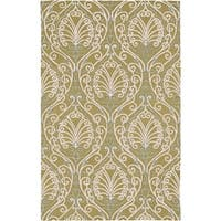 Hand-tufted Totes BoGreenical Pattern Wool Area Rug - 3'3 x 5'3