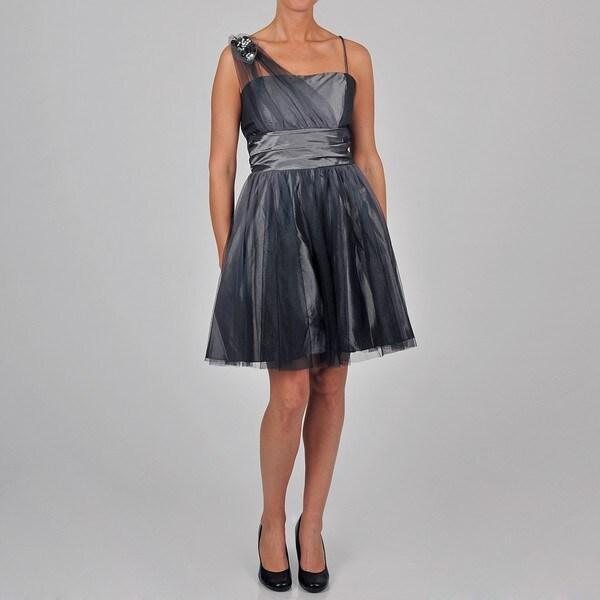 Onyx Nite Women's overlay party dress