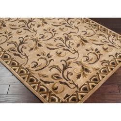Hand Tufted Barnsley New Zealand Wool Rug (8' x 11') - Thumbnail 1