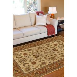 Hand-tufted Arlesey Wool Rug (12' x 15') - Thumbnail 2