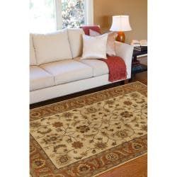 Hand-tufted Arlesey Wool Rug (12' x 15')