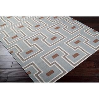 Hand Woven Broughton  Wool Rug (5' x 8')