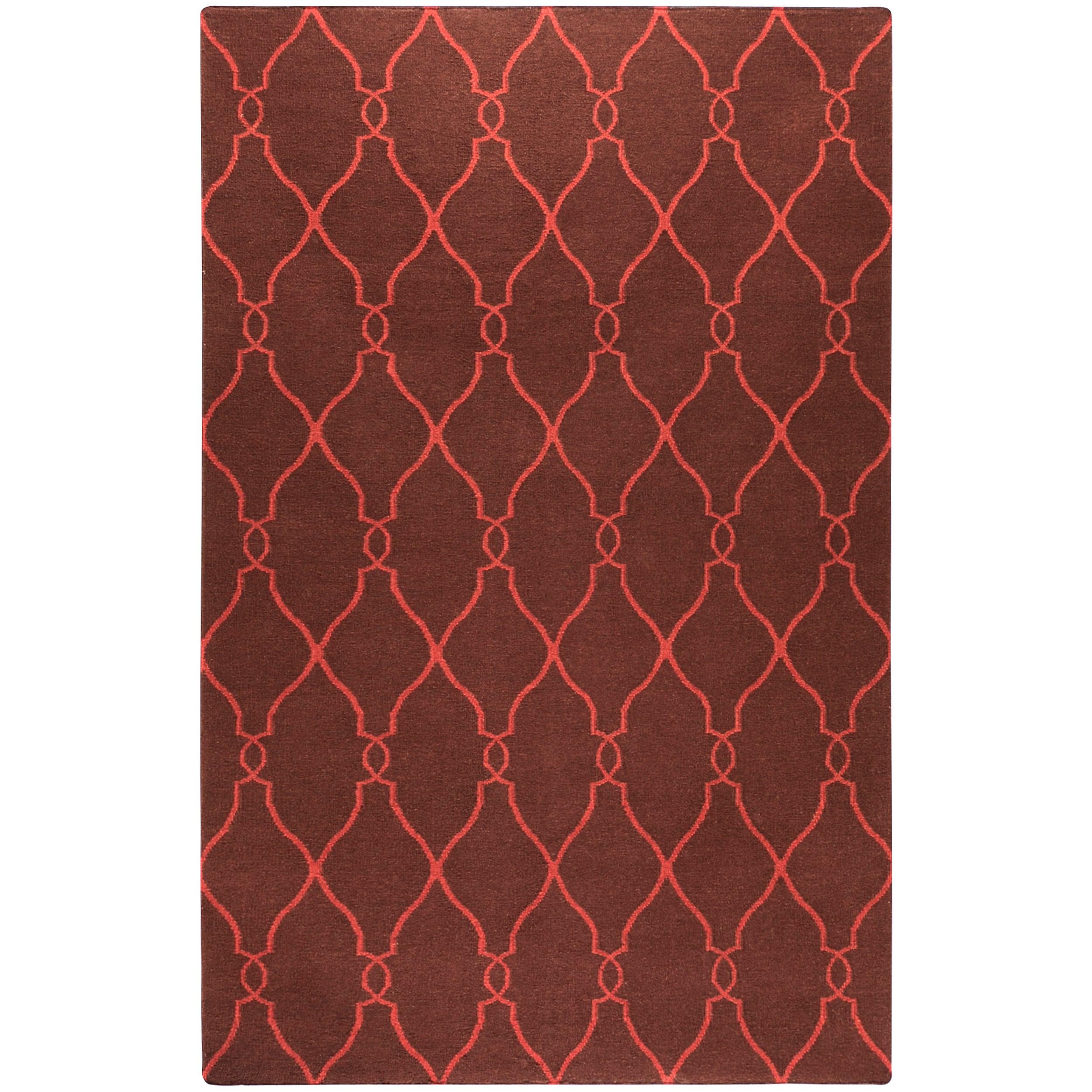 Hand Woven Bideford Wool Rug (5'X8')