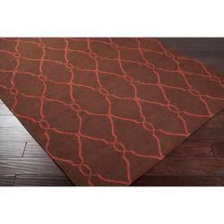 Hand Woven Bideford Wool Rug (5'X8') - Thumbnail 1