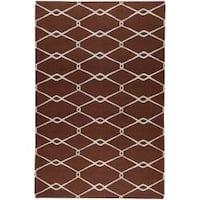 Hand Woven Birkenhead Wool Area Rug (8' x 11')