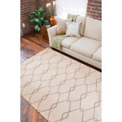 Jill Rosenwald Hand Woven Birchwood Wool Rug (8'X11') - Thumbnail 2