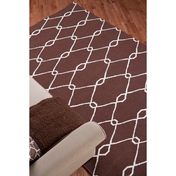 Hand Woven Birkenhead Wool Rug (5' x 8')