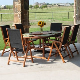 International Caravan Royal Tahiti 'Segovia' 8-piece Outdoor Dining Group