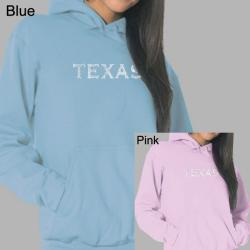 Los Angeles Pop Art Women's Texas Hoodie