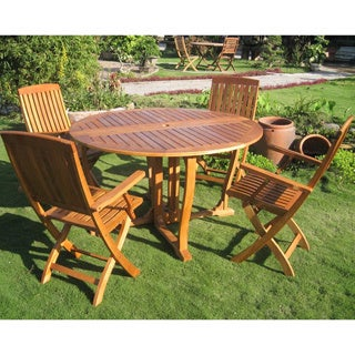 International Caravan Royal Tahiti 'Marbella' 5-piece Outdoor Dining Set