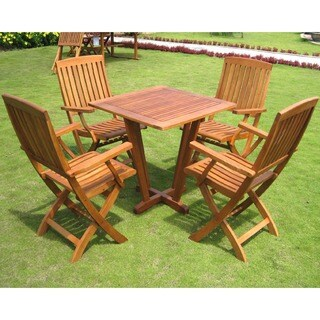 International Caravan Royal Tahiti Gibraltar 5-piece Dining Set