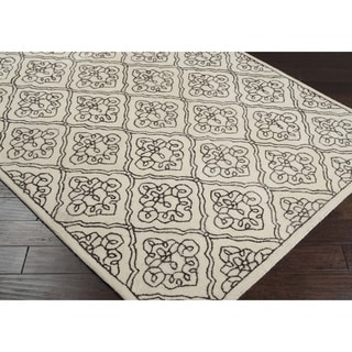 Hand-tufted Troyes Contemporary Geometric Wool Rug ( 9' x 13' )