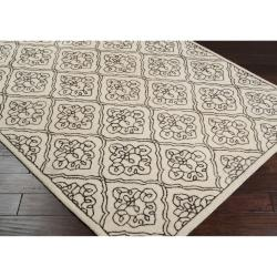 Hand-tufted Troyes Contemporary Geometric Wool Rug ( 8' x 11' ) - Thumbnail 1