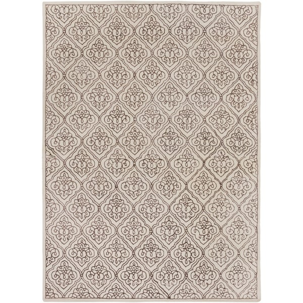 8 X 11 Area Rugs On Sale: Shop Hand-tufted Troyes Contemporary Geometric Wool Area