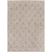 Hand-tufted Troyes Contemporary Geometric Wool Area Rug - 8' x 11'