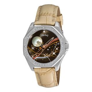 Stuhrling Original Women's Lady Nemo Universe Sand-Strap Swiss Quartz Watch