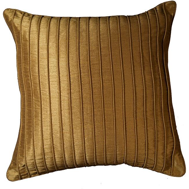 LNR Home Marlane Ribbs Clay 18-inch Pillow