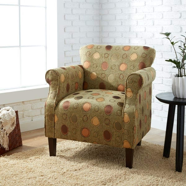 Oliver & James Tiburon Grasshopper Green Arm Chair