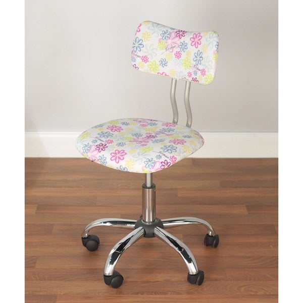 Simple Living Floral Print Task Chair